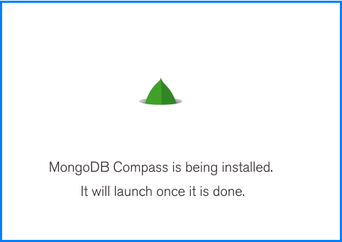 MongoDB Compass Installation on Windows: screen