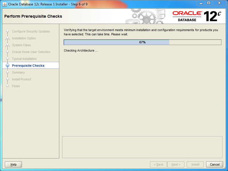Oracle database 12cR1 Standard Edition 2 Installation on Windows: prerequisites