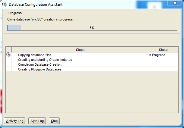 Oracle database 12cR1 Standard Edition 2 Installation on Windows: configuration assistant