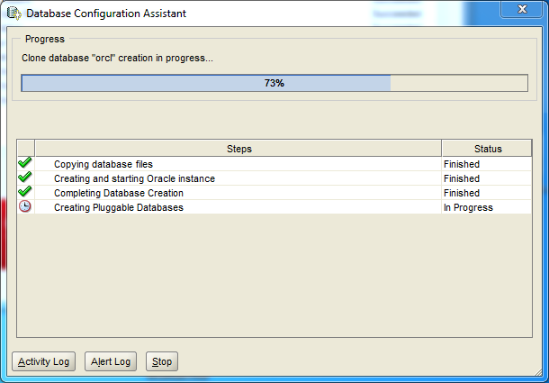 Oracle database 12cR1 EE Installation on Windows: configuration assistant