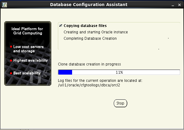 Oracle database 11gR2 Installation on Linux 6: configuration assistant