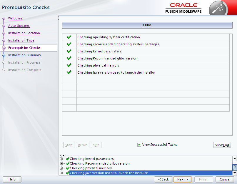 Oracle Business Intelligence 12c Enterprise Edition Installation : prerequisites