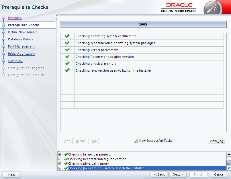 Oracle Business Intelligence 12c Enterprise Edition Configuration : prerequisites