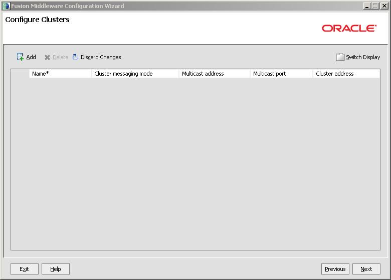 Configure Java EE Agent in ODI 11g: agent clusters create