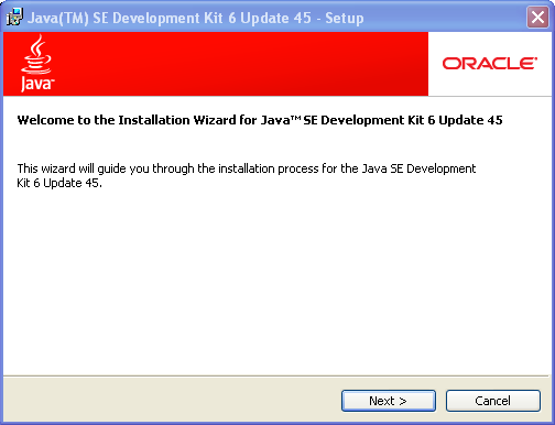 JDK 6 installation on Windows - Setup