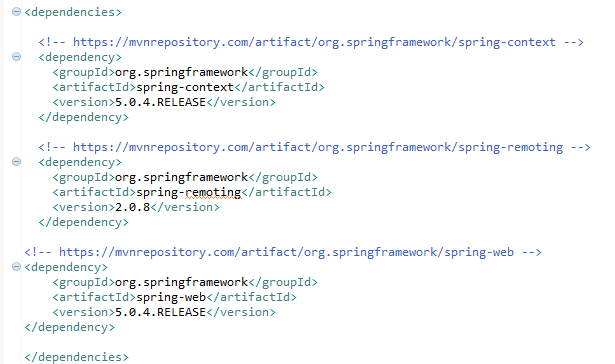 Create JAX-WS (SOAP) web service consummers with Spring (example) : pom.xml file
