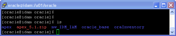 Oracle APEX 5.1 Installation on Linux - using Oracle Embeded PL/SQL Gateway.