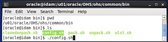 configure Oracle HTTP Server (OHS) 12.1.2 : start configuration