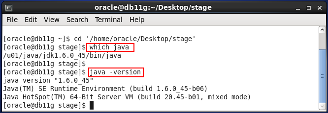 Weblogic 10.3.6 installation on linux for Oracle IDAM - java version check