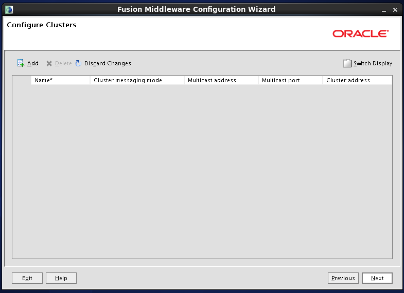 Configure Oracle Identity and Access Manager: configure cluster if needed