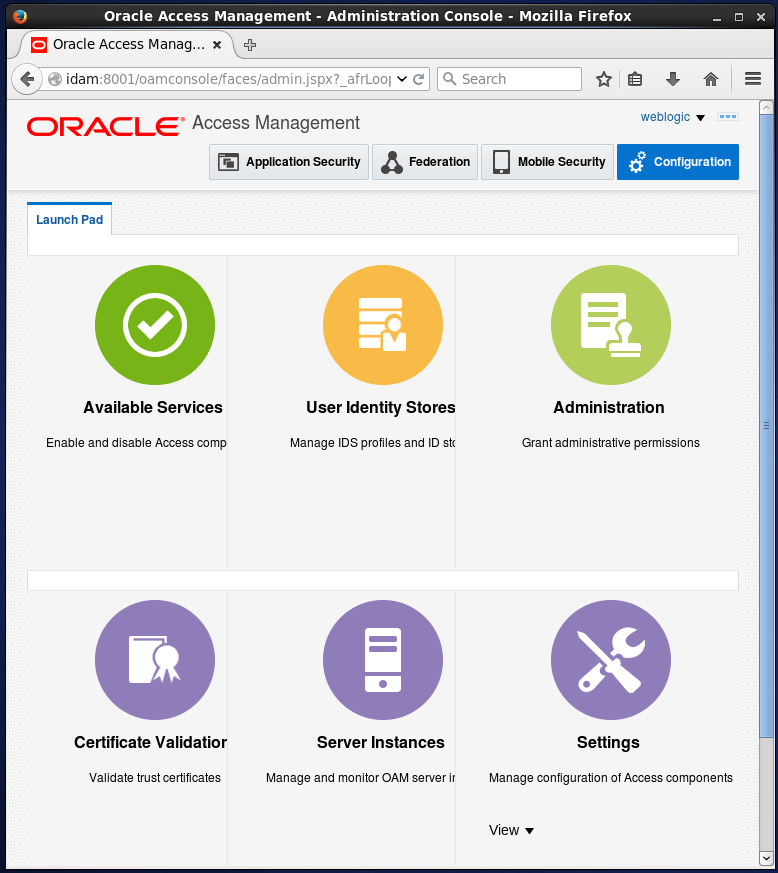 change embedded ldap server to oracle internet directory: oid configuration