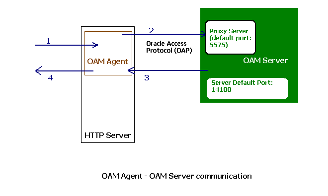 Oracle oam server: architecture